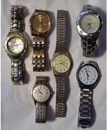 Mixed lot of 6 Men's Watch Watches Patek & Rone... - $29.65