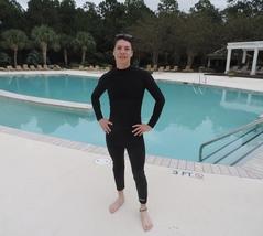 Men's 3mm Neoprene Wetsuit Pants, Cinch Drawstr... - $47.00