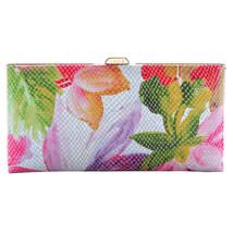 New Lodis Vanessa Floral Quinn Clutch Wallet, M... - $176.72