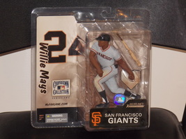 2005 McFarlane Willie Mays Figure New In The Package Copperstown Collect... - $39.99