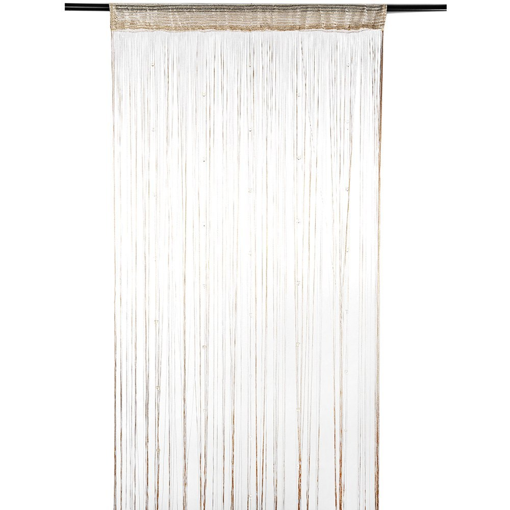 6 Colors Dew Drop Beaded Curtains Fly Insect Panel Room