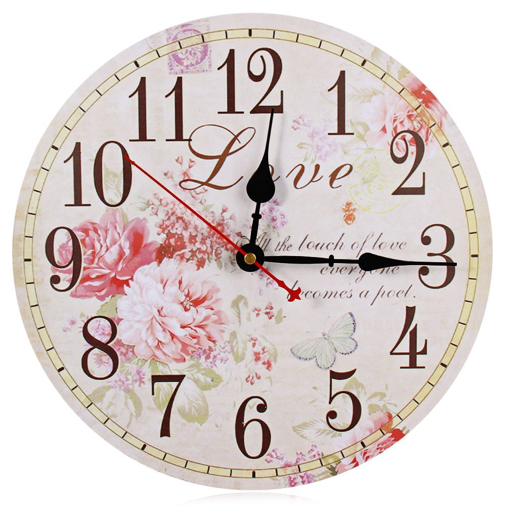wall clock clocks watch horloge murale diy and similar items. Black Bedroom Furniture Sets. Home Design Ideas