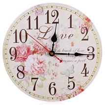 Wall Clock Clocks Watch Horloge Murale Diy 3d L... - $29.88