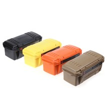 Outdoor Waterproof Box EDC Gear Storage Box Water Resistant Portable Out... - $32.25