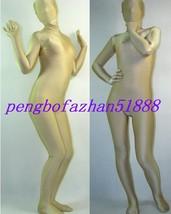 Unisex Fleshcolor Lycra Spandex Zentai Full Body Suit Catsuit Costumes S394 - $32.99