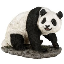 5 1/2 Inch Animal Figurine Sitting China Panda Bear Collectible Figurine - £16.40 GBP