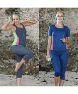 Women Workout Clothing Ladies Exercise Pants Sportswear Running Gym Fitn... - $17.95