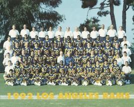 1992 LOS ANGELES RAMS 8X10 TEAM PHOTO FOOTBALL NFL PICTURE LA - $3.95