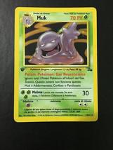 Pokemon Card Rare Holo 1st Edition Italian Muk 13/62 Fossil Series Free ... - $6.92