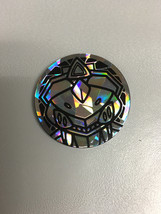 Pokemon Silver Ovals Holo Genesect Coin from Solar Strike Theme Deck Rare! - $1.97