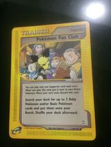 Pokemon Card Non Holo Pokemon Fan Club 130/147 Aquapolis Near Mint Free ... - $6.88