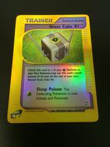 Pokemon Card Grass Cube 01 Reverse Holo 124/147 Aquapolis Free Shipping! - $4.94