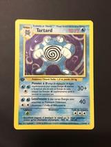 Pokemon Card Rare Holo 1st Edition French Poliwrath 13/102 Base Set Tartard - $29.69