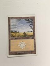 MTG: Magic The Gathering Plains Land Card 333/350 Free Combine Shipping! - $0.98