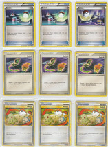 9 Pokemon Card Switch Mix Set 102/112 Fire Red Leaf Green 102/123 HGSS m... - $9.89