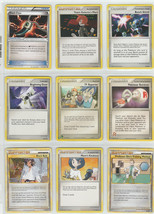 9 Pokemon Card Mix Trainer Set Beginning Door TV Reporter Pokemon Retrie... - $7.91