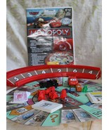 2011 Disney-Pixar CARS 2 MONOPOLY Board Game By Parker Brothers Ages 5+ - $12.52