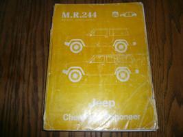 1984 Jeep Cherokee/Wagoneer Workshop Manual - M... - $22.91