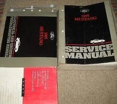 1995 FORD MUSTANG Service Shop Repair Workshop Manual Set OEM W EVTM & S... - $247.45