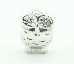 Women's Authentic Sterling Pandora Owl Charm Bead Silver 925 ALE 790278 ... - $20.79