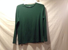Great Condition Talbtos Petite X Cotton Long Sleeve Green Shirt