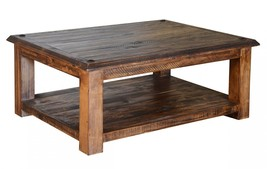 Quality Rustic Walnut Laredo Series Cocktail Table, Coffee Table - €538,80 EUR