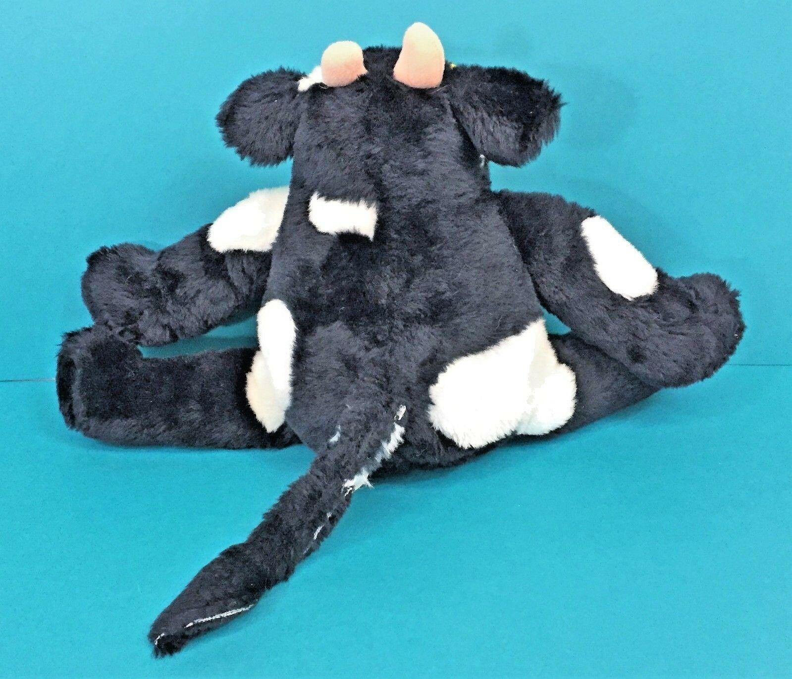 Commonwealth Cow Moos Black White Plush Sunglasses Stuffed Animal Vintage 1987
