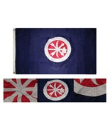 3x5 Embroidered Choctaw Braves Indian 300D Nylon Flag 3'x5' 2 Clips - £31.38 GBP