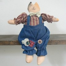 Calico Cat Handmade Country Boy Doll (BN-DOL102) - $14.00