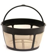 1 X THE ORIGINAL GOLDTONE BRAND Reusable Basket-style 10-12 Cup Coffee F... - $6.85