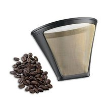 THE ORIGINAL GOLDTONE BRAND Reusable Cone-style #2 4-8 Cup Coffee Filter... - $5.87