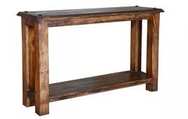 Quality Rustic Walnut Laredo Series Sofa Table - €487,66 EUR