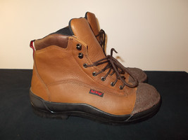 New Red Wing Work Safety Factory Dipped Steel Toe Boots ASTM F 2413 Men ... - $3.538,11 MXN