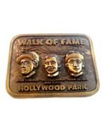 Vintage 1979 Jockeys Hollywood Park Marche Of Fame Boucle Ceinture 60220... - $146.50