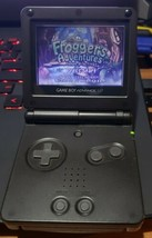 Nintendo Game Boy Advance SP Onyx Black AGS-001 TESTED & Charger - $58.04