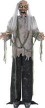 Halloween LifeSize Animated Standing ZOMBIE Animatronic Prop Haunted Hou... - €74,13 EUR