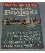 Motor Boating Annual Show Issue Magazine January 1965 - $15.95
