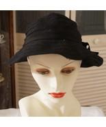 Vintage John Andrew Tape Lace Brimmed School Girl Inginue Hat - $55.00
