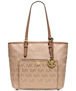 MICHAEL Michael Kors Jet Set Travel Medium Tote (Beige/Camel/Dark Tan) - $142.20