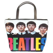 The Beatles Custom Bucket Bag/Handbags/Purse (2 sided)-02 - $27.00