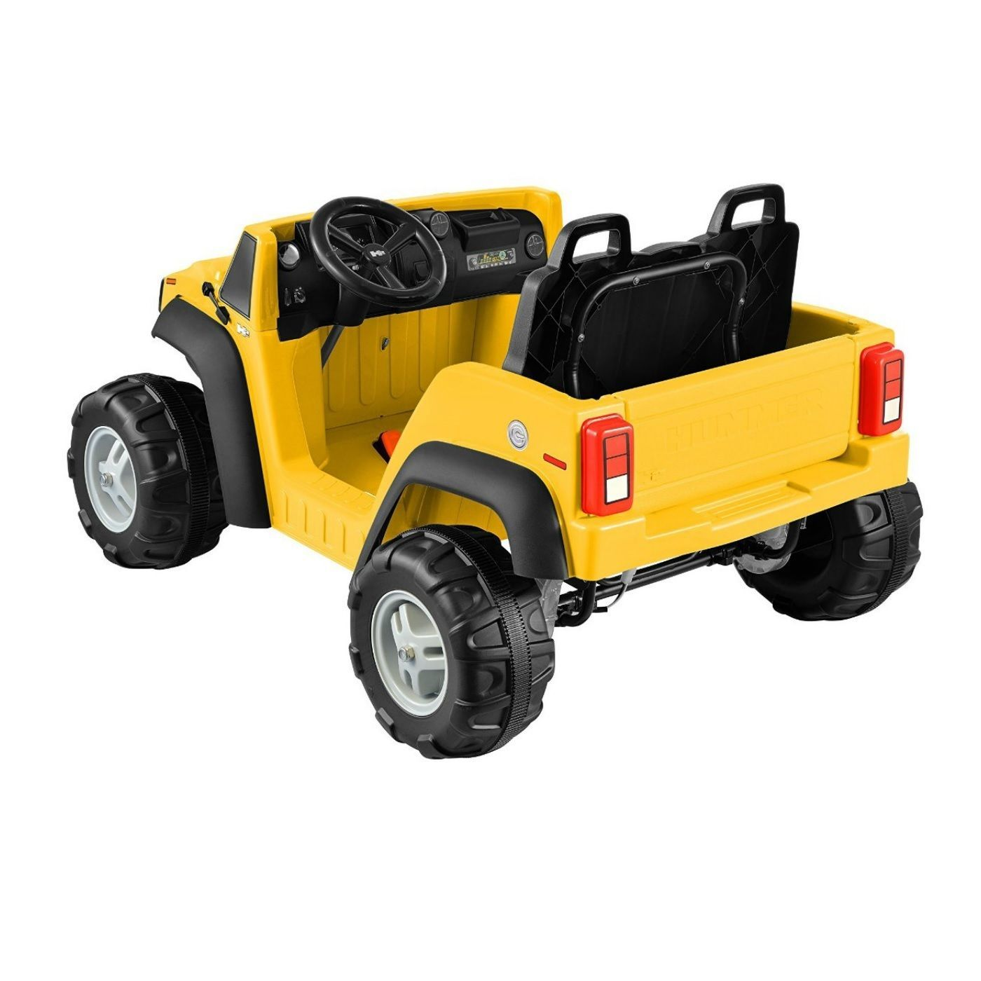 Battery Operated Hummer Yellow Ride On Kids Powered ...
