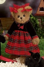 "Bearington Bears ""Mandy MacTerrier"" 14"" Collector Bear- Sku #179879 - 2009 - $39.99"