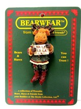 "Boyds BEARWEAR ""Rudy"" Lapel Pin-#26089 -New- 2007- Retired - $14.99"
