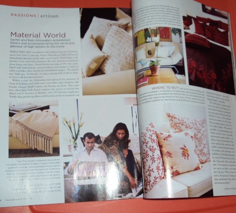 House Beautiful Magazine Back Issue October 2005 The Makeover Eliminate Clutter