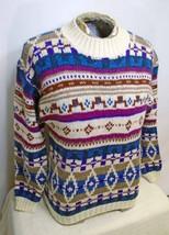 Vintage Woolrich 1980's 1990's Unisex Aztec Ski Crew Neck Sweater Size M... - £27.41 GBP