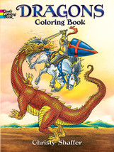 Dover Publications-Dragons Coloring Book - $7.29