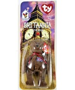 Britannia The Bear Ty Beanie Baby w/ Rare Errors - $12.86
