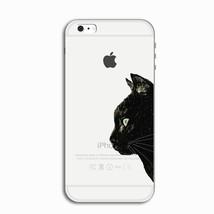 Mignon Chat Noir Transparent Silicone Souple Case Cover Skin pour Apple ... - $5.24