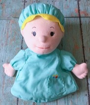 Lillian Vernon Doctor Hand Puppet Plush Stuffed Toy Embroidered Eyes Occupations - $9.89