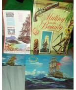 Mutiny on the Bounty Book 1st Ed 1962 Random Ho... - $15.00